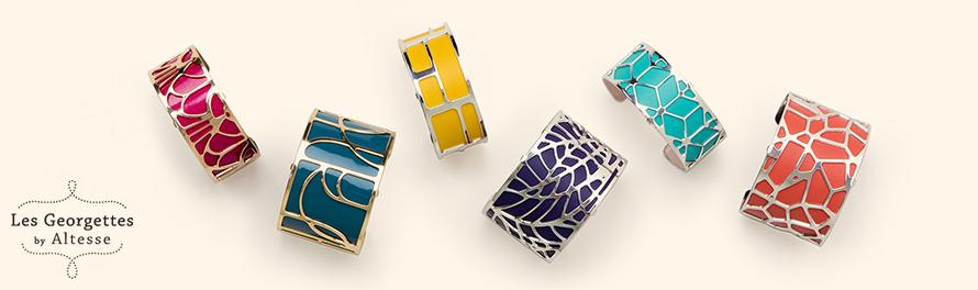 Bracelets Les Georgettes  des bijoux de créateur !