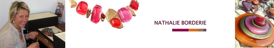 Nathalie Borderie, bijoux fantaisie, boucles d'oreilles fantaisie, bagues fantaisie, bracelets fantaisie et colliers fantaisie chez Influences vente en ligne de bijoux fantaisie !