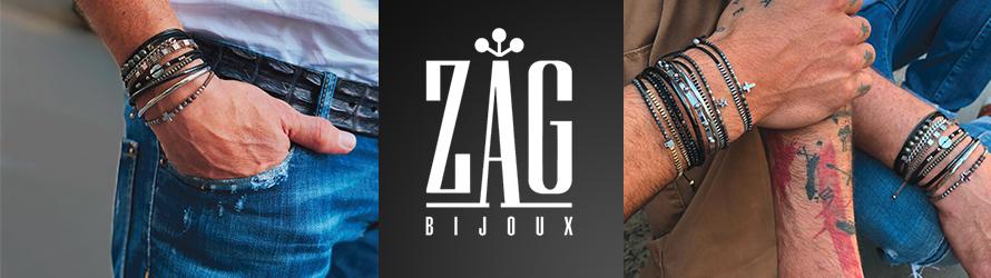 Bijoux ZAG pour hommes  des bijoux de créateur !